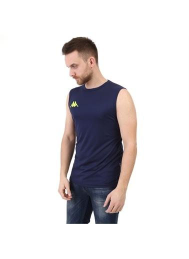 Kappa Player Kolsuz T-Shirt Abrız Pro4  Lacivert